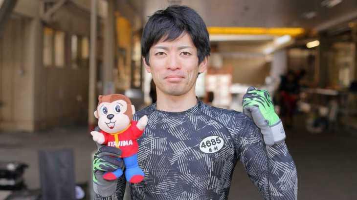 島村隆幸選手のTOP画像です。