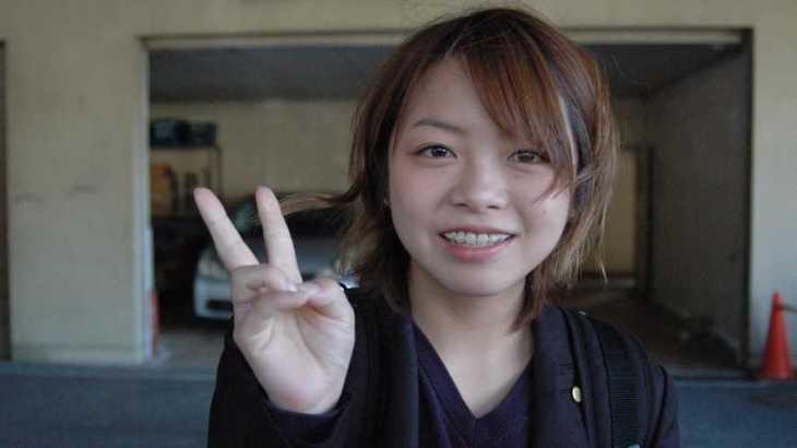 瀧川千依選手のTOP画像です。