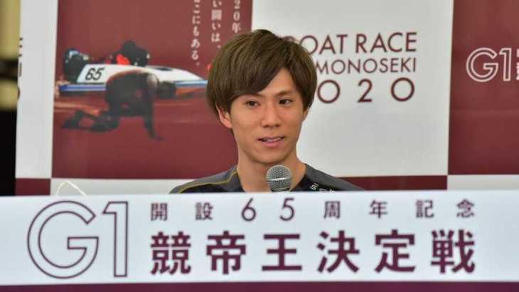 大池佑来選手のTOP画像です。