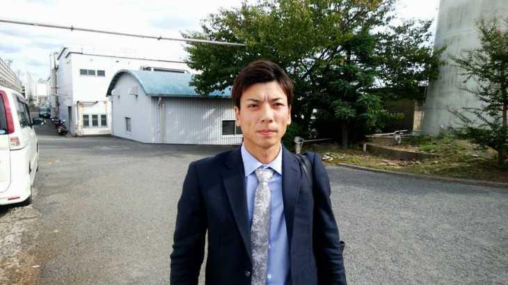 尾嶋一広選手のTOP画像です。