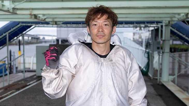 松田大志郎選手のTOP画像です。