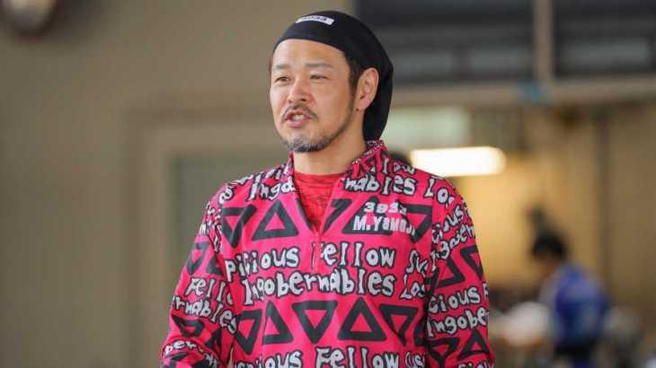 山地正樹選手のTOP画像です。