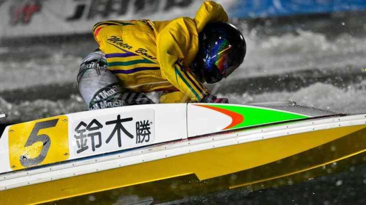 鈴木勝博選手のTOP画像です。