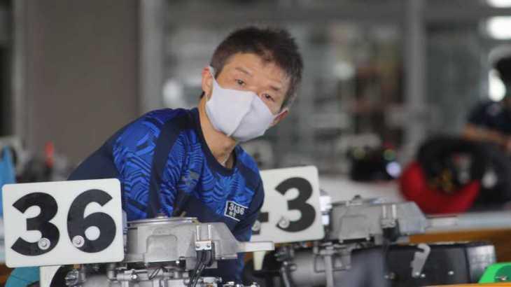 柏野幸二選手のTOP画像です。