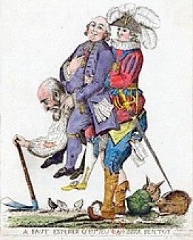 アンシャン=レジームに対する風刺画