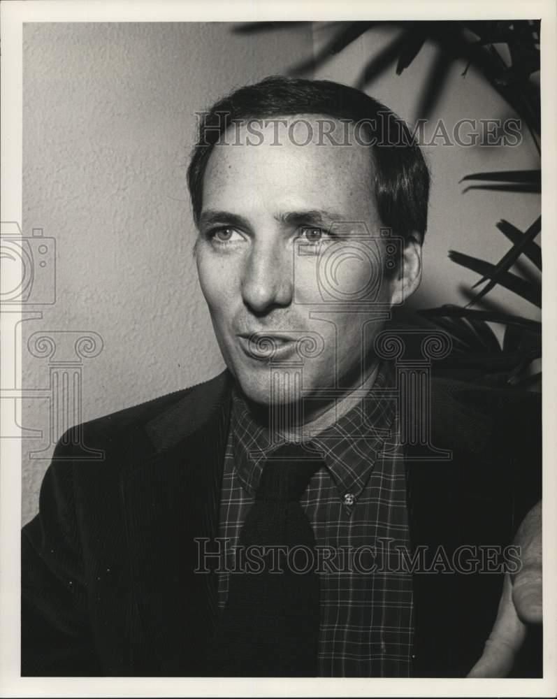 1979 Press Photo Candid portrait of writer Joseph Wambaugh ...