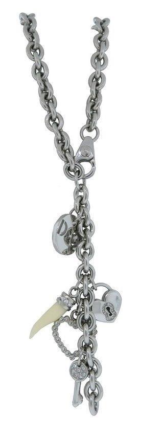 Dolce & Gabbana Jewels DJ0687 Women's Silver Tone Charms