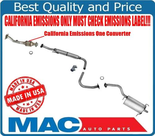 small resolution of details about for california emissions sentra 09 12 2 0l muffler catalytic converter exhaust