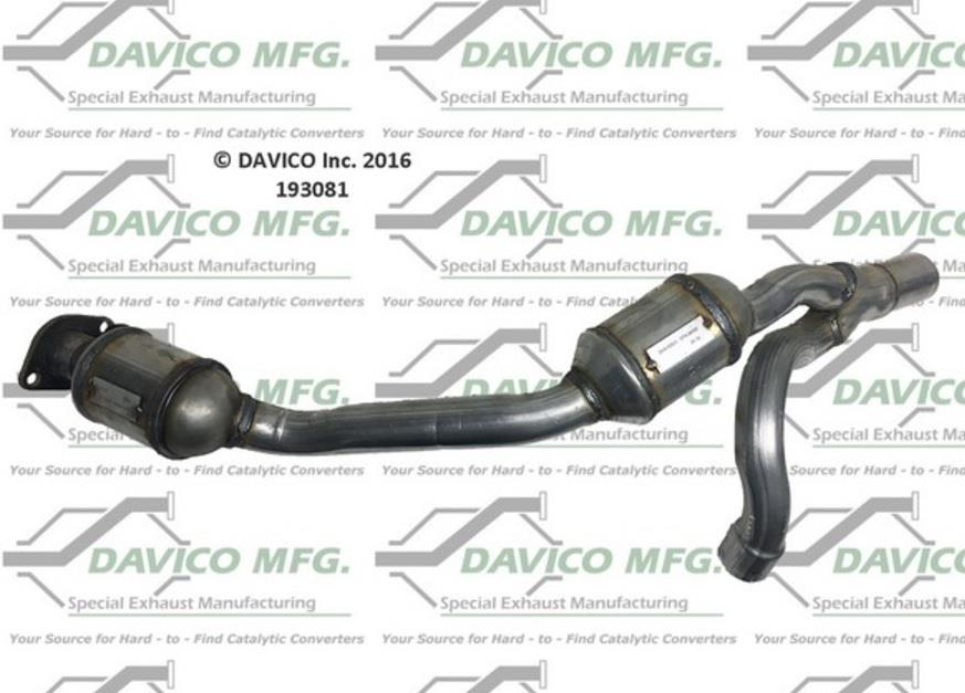Engine Y Pipe Catalytic Converter for Jeep Wrangler 2007