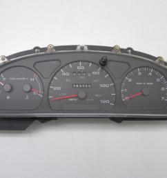 details about instrument cluster for 2000 ford taurus w o flex 2000 mercury sable 257 03731 [ 1600 x 1200 Pixel ]