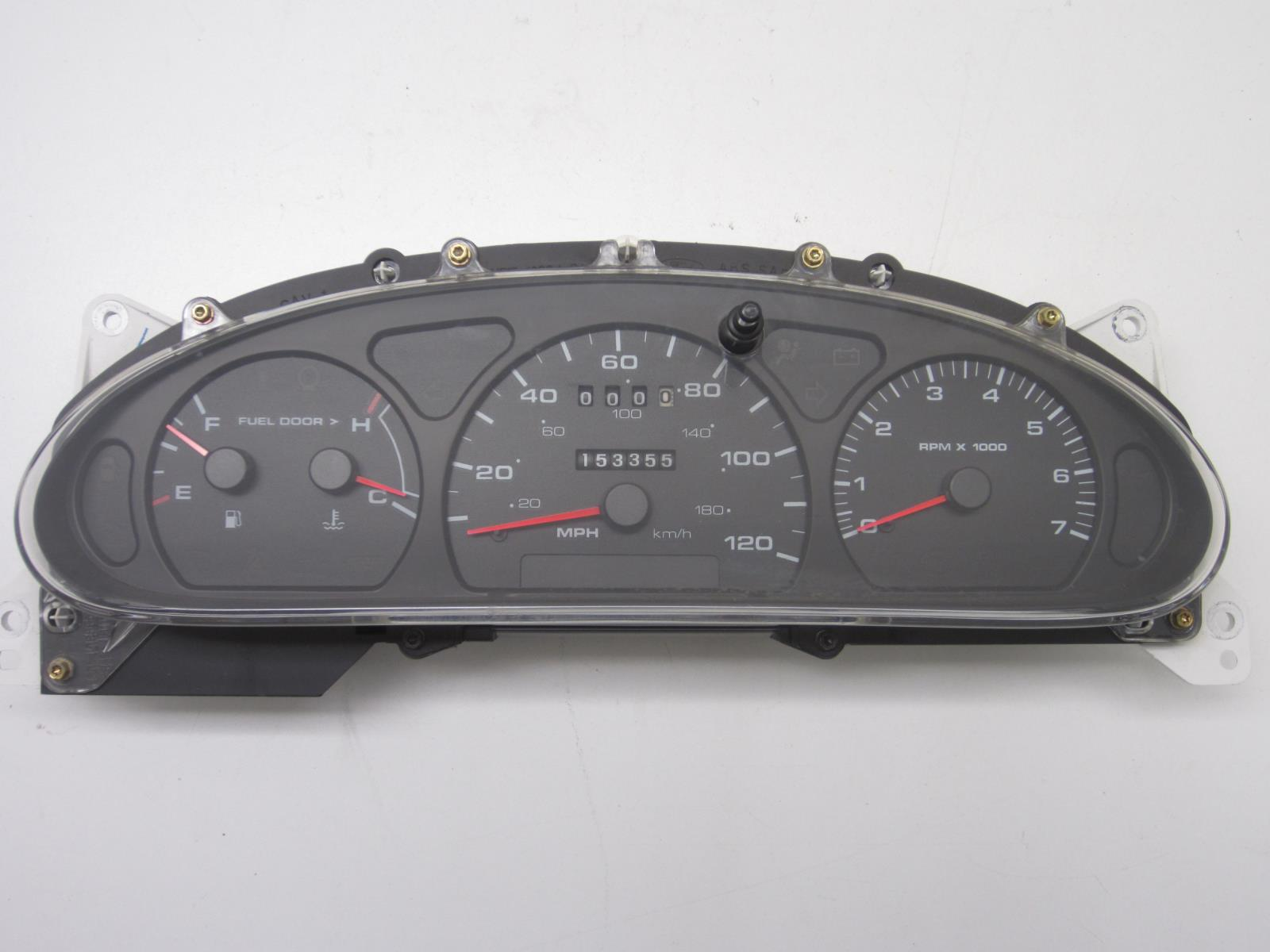 hight resolution of details about instrument cluster for 2000 ford taurus w o flex 2000 mercury sable 257 03731