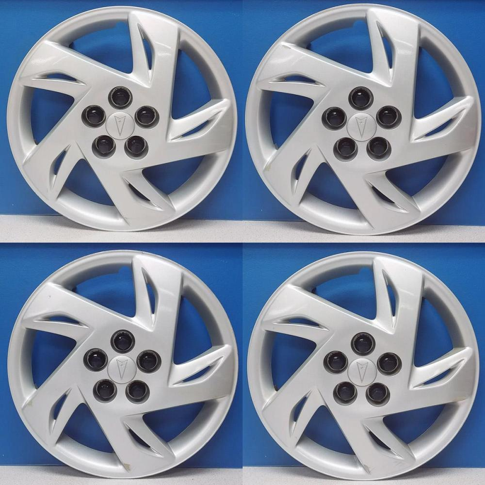 medium resolution of details about 2000 2002 pontiac sunfire 5127b 15 hubcaps wheel covers gm 09593211 sale set