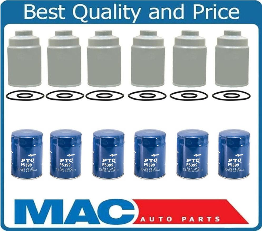 medium resolution of 100 new 6 duramax diesel fuel filters for 01 15 gmc 6 6 6 new oil filters