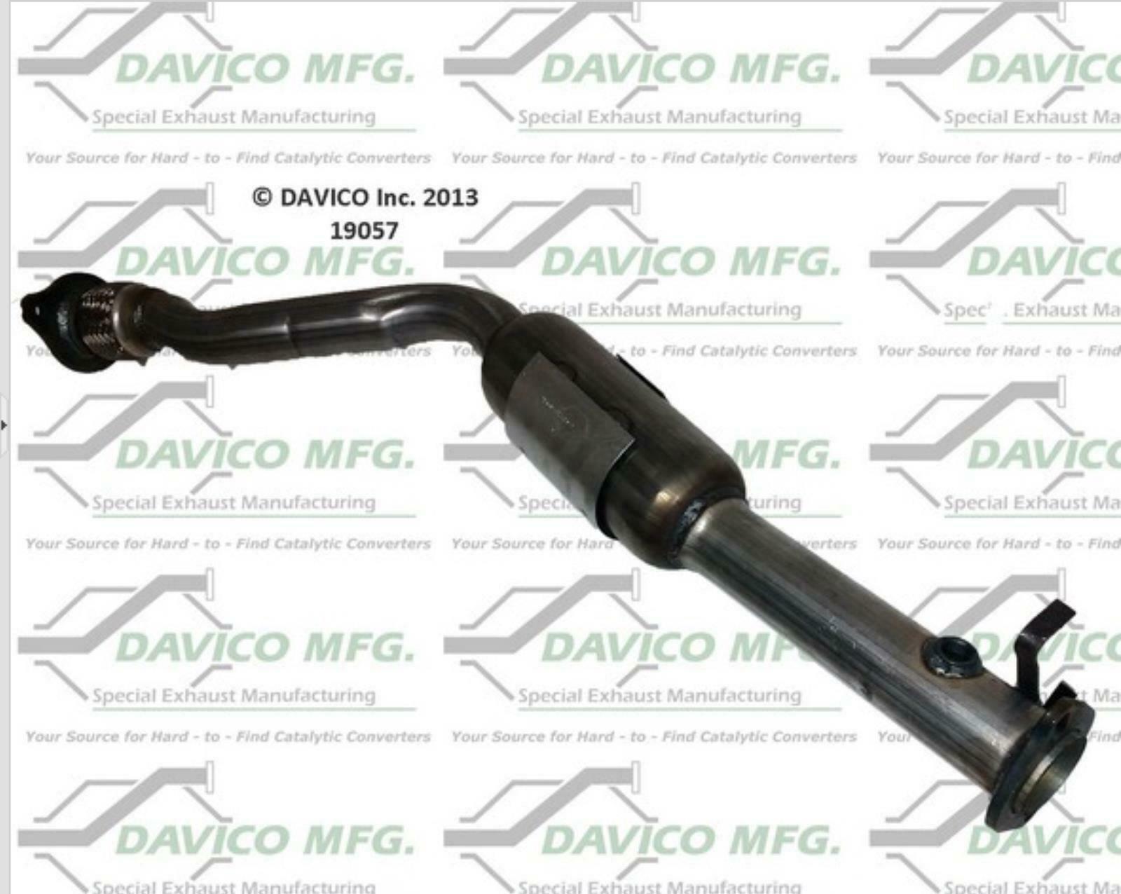 Muffler Exhaust System & Catalytic Converter Fits 2000