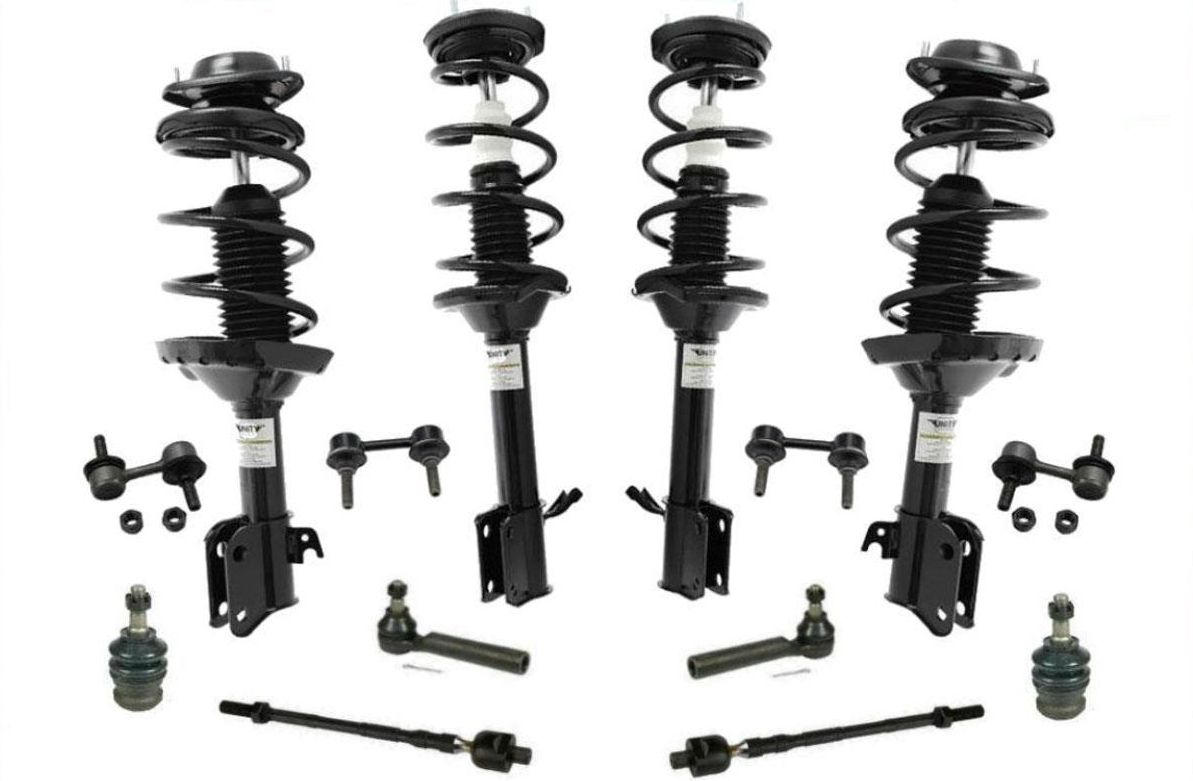 Front & Rear Struts Chassis Kit fits For Subaru Forester