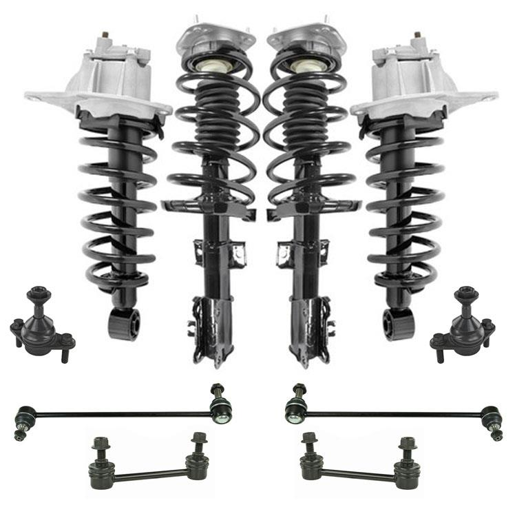 Suspension and Chassis 10pc Kit for Volvo Xc70 Wagon All