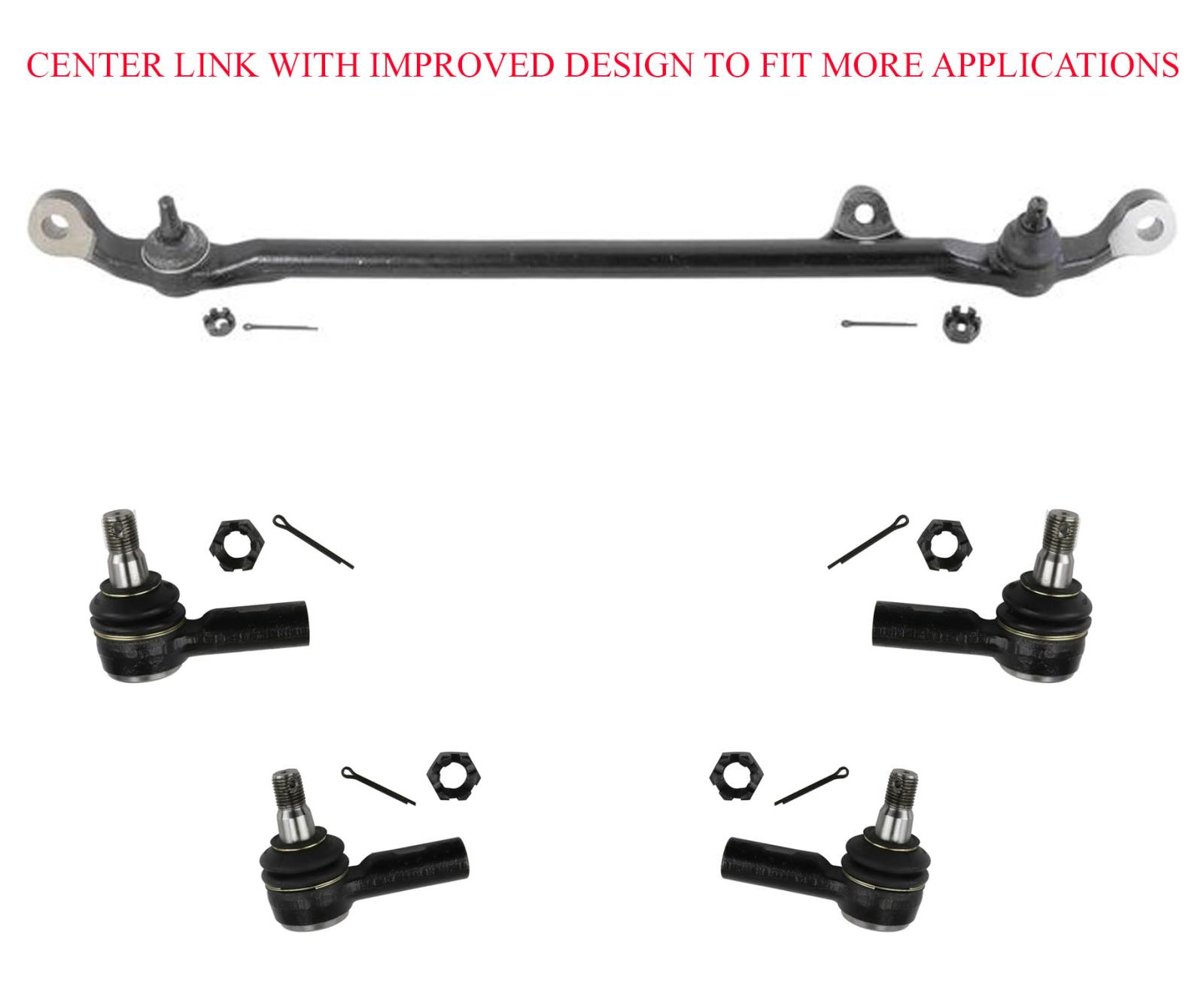 Center Link Inner & Outer Tie Rods Fits For 91-97 Rodeo 92