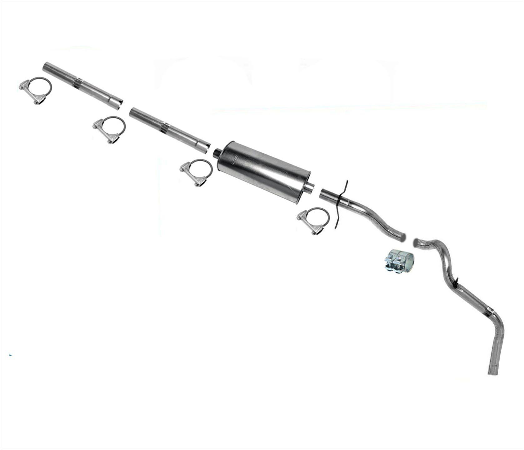 Fits Ford F150 F250 4.2L 4.6L 5.4L Muffler Exhaust System