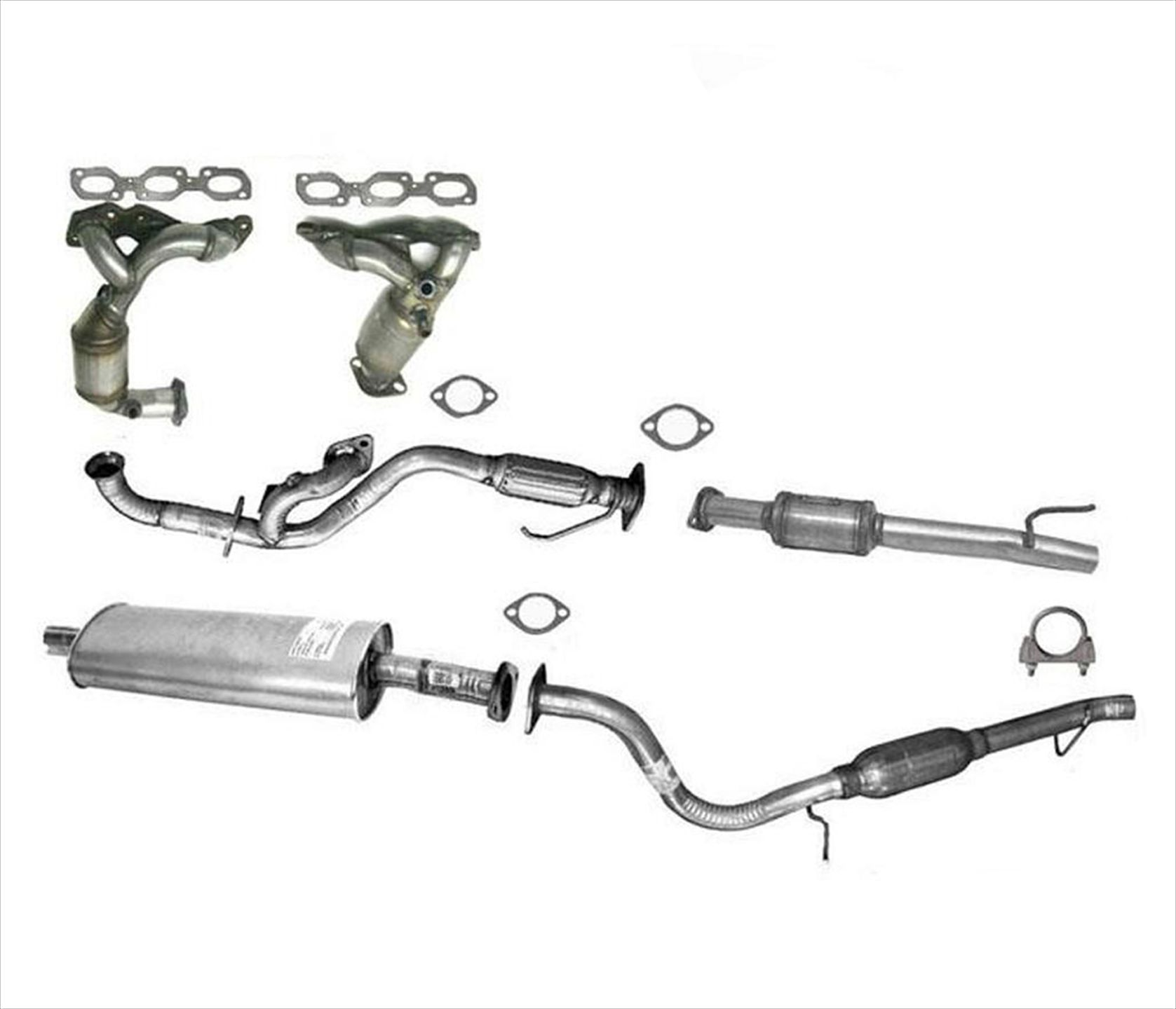 Full Exhaust System For Ford Escape Mazda Tribute