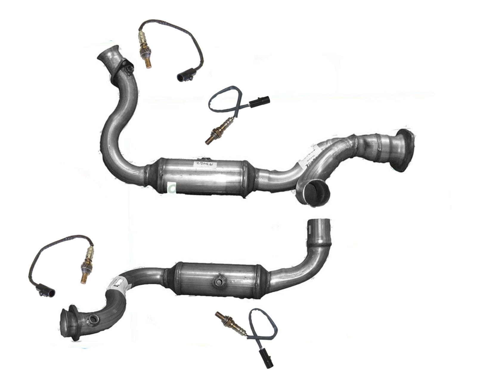 For Ford 08-10 F250 Super Duty 5.4L Engine Y-Pipe Dual