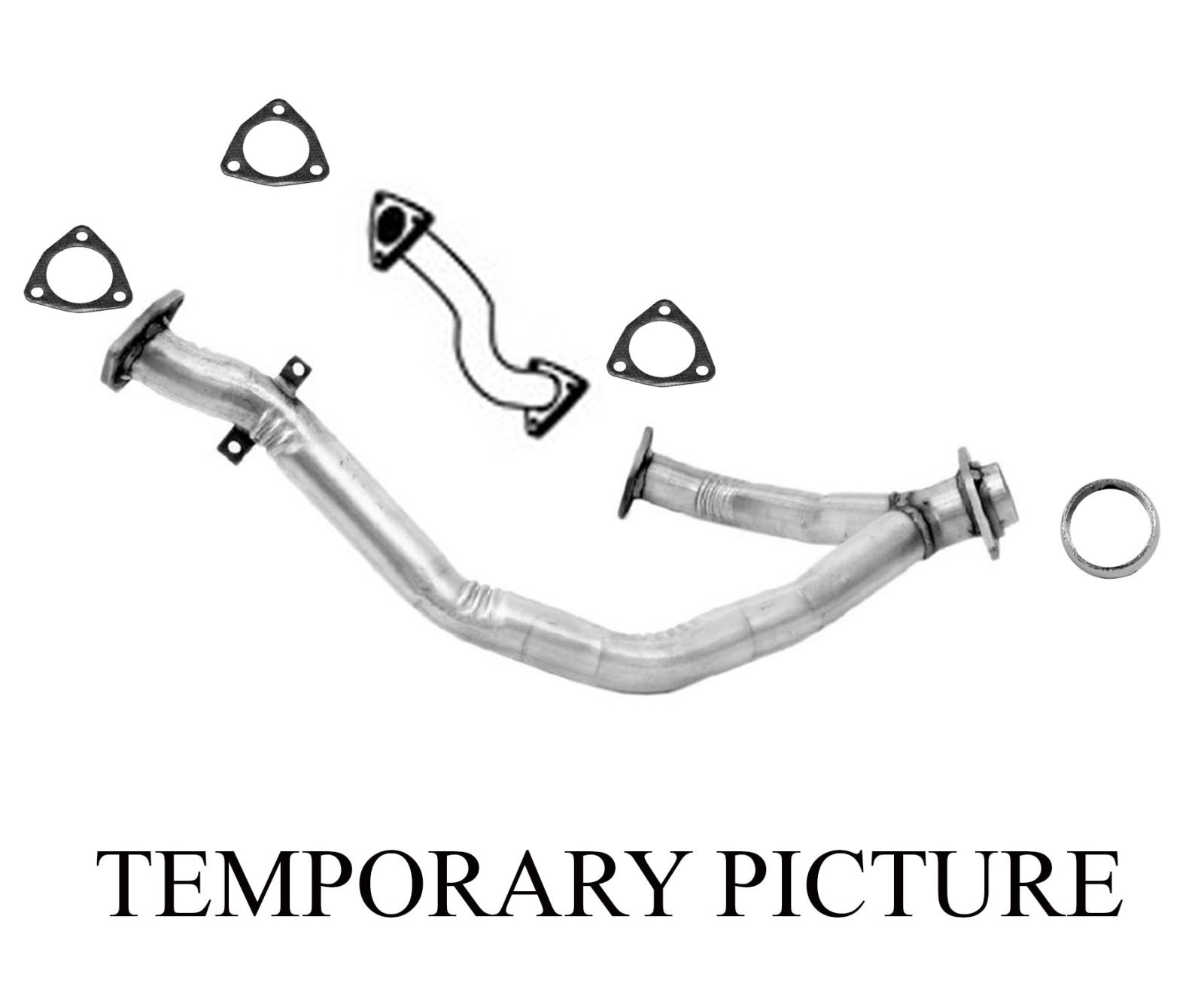 Front Eng Y Pipe & Connector Pipe Gaskets For 96-04 Acura