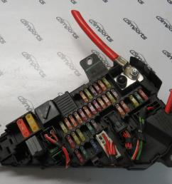 04 10 bmw e63 645ci 650i m6 fuse power distribution box cover oem  [ 1600 x 900 Pixel ]