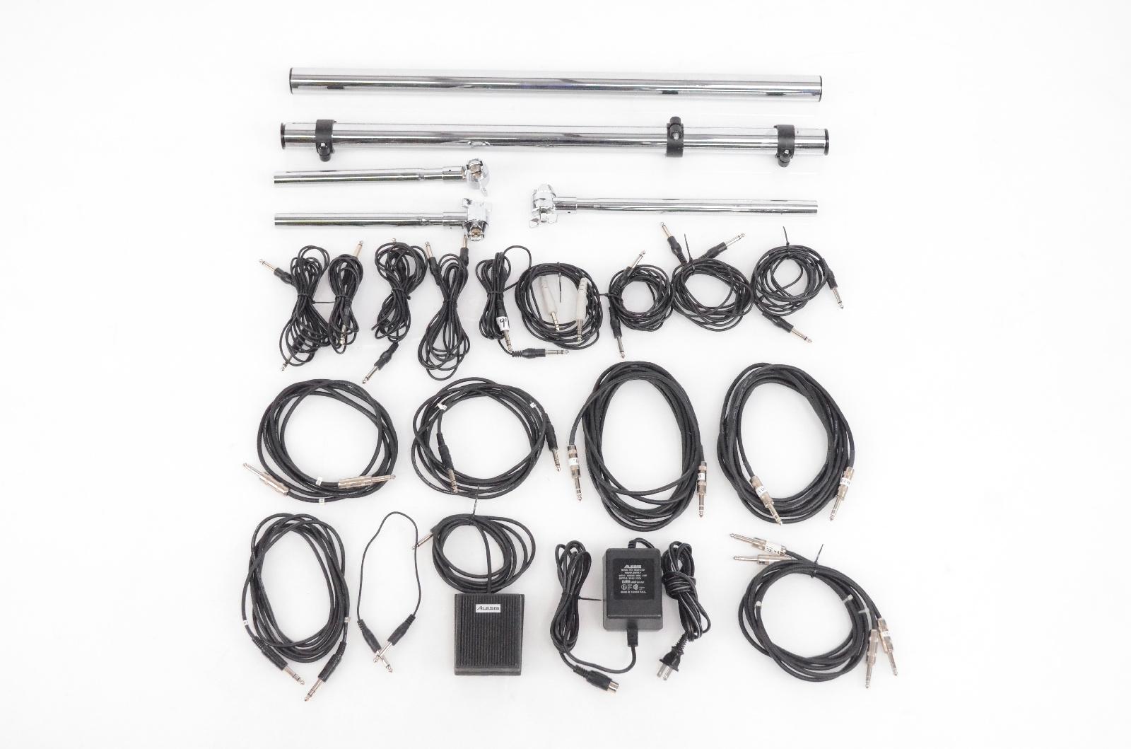 Alesis DM Pro Electronic Drum Set w/ Module Cables Pedals
