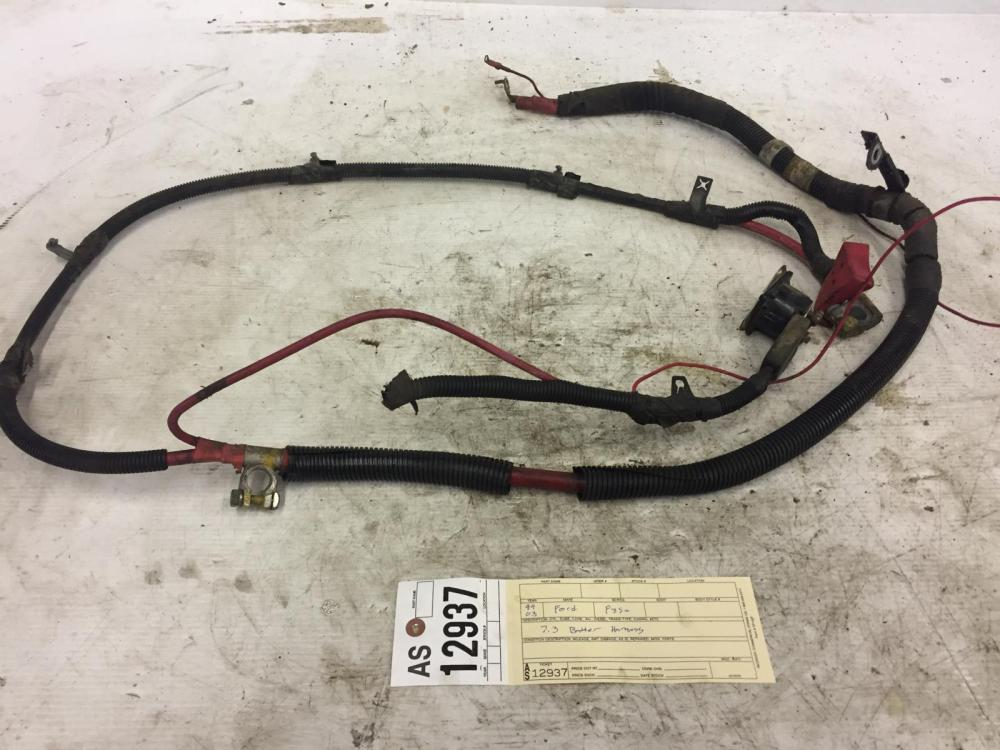 medium resolution of 1999 2003 ford f350 f250 7 3l cable de la bater a powerstroke arn