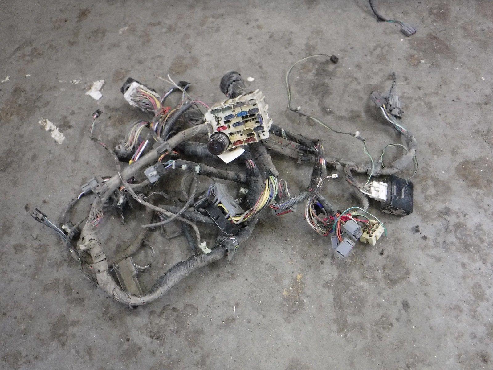 hight resolution of 1995 1997 ford f350 xl manual 4x4 dash wiring harness f5tb14401 el 1995 f350 4x4 wiring harness