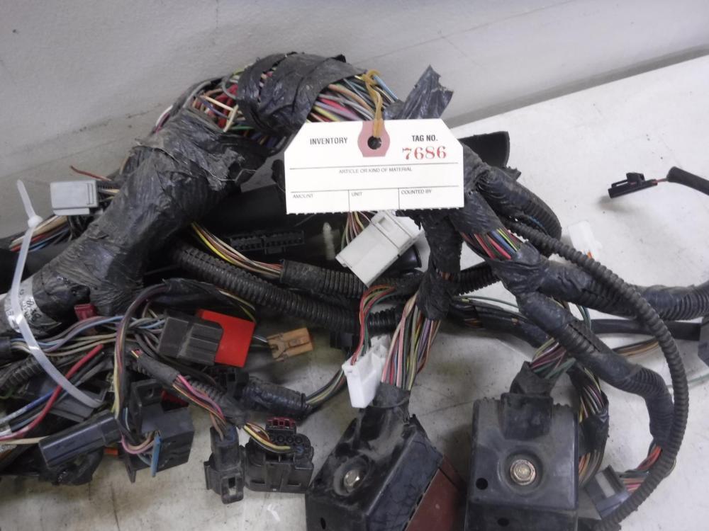 medium resolution of 2000 2003 ford f350 4x4 7 3 diesel xlt manual wiring harness dash oem