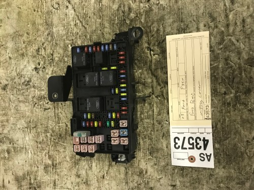 small resolution of 2005 2007 ford f250 f350 lariat under dash fuse box tag as43573 14a067