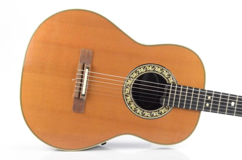 medium resolution of ovation 1713 classic classical acoustic electric guitar carlos rios 33995