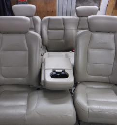 1998 2003 ford f150 lariat tan leather seats crew cab power heat free ship oem [ 1600 x 1200 Pixel ]