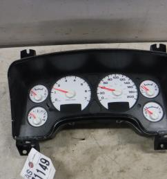 details about 2003 2004 dodge ram 5 7 hemi gauge cluster p56051102ae oem [ 1600 x 1200 Pixel ]