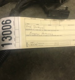 2003 dodge ram 2500 3500 5 9l cummins diesel engine wiring harness this is the harness that goes from the ecu and then back to the body part number  [ 4032 x 3024 Pixel ]