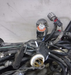 details about 2005 2007 ford f350 6 0 diesel auto 4x4 engine compartment wiring harness oem [ 4608 x 3456 Pixel ]