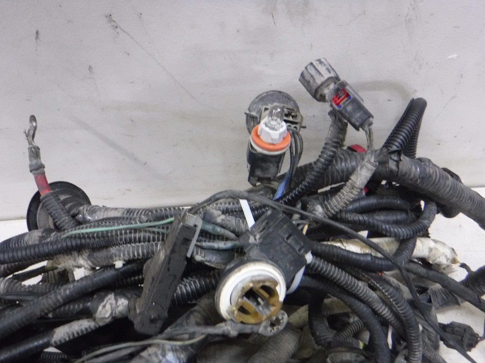 medium resolution of details about 2005 2007 ford f350 6 0 diesel auto 4x4 engine compartment wiring harness oem