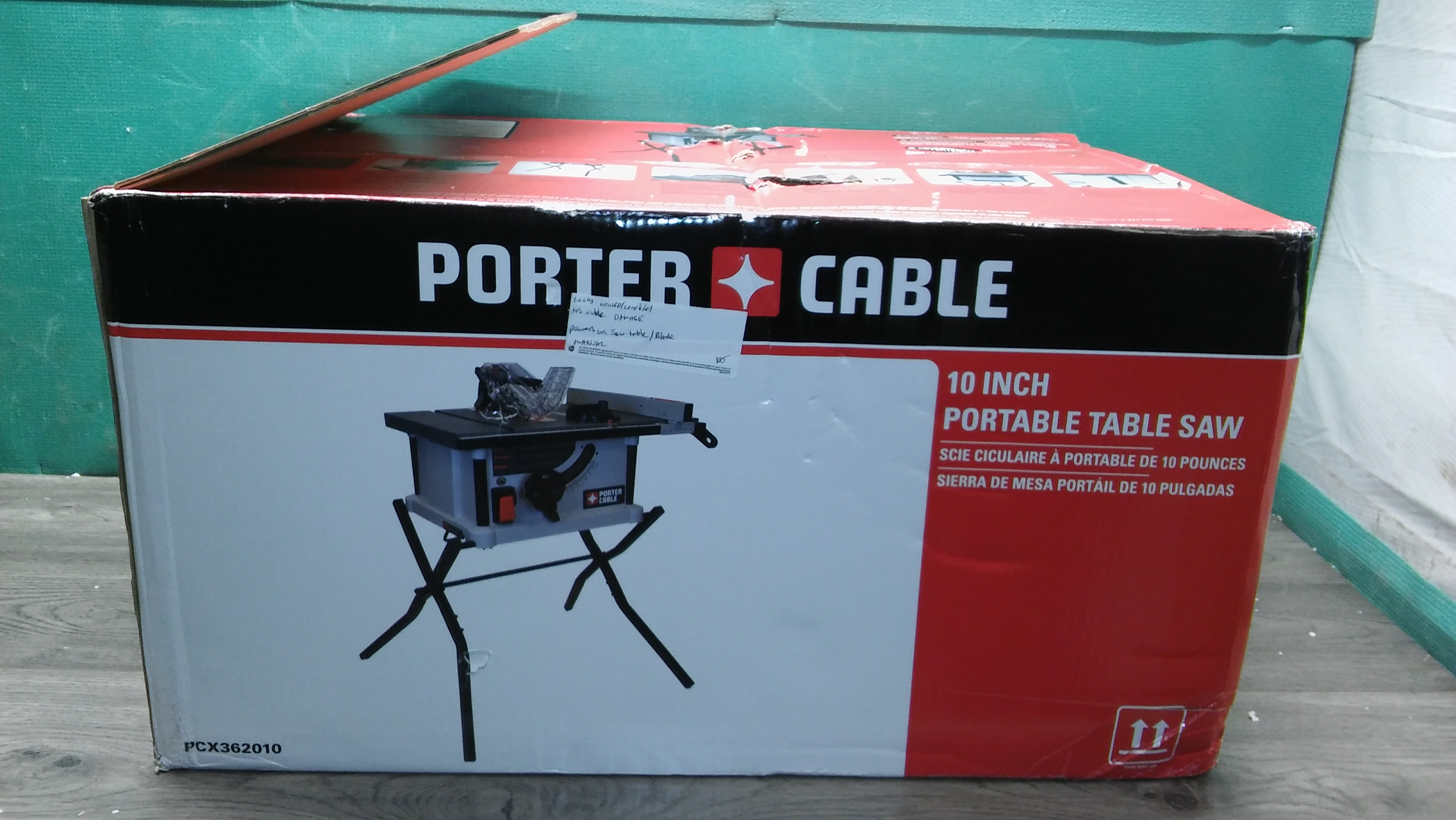10 Inch Porter Cable Table Saw