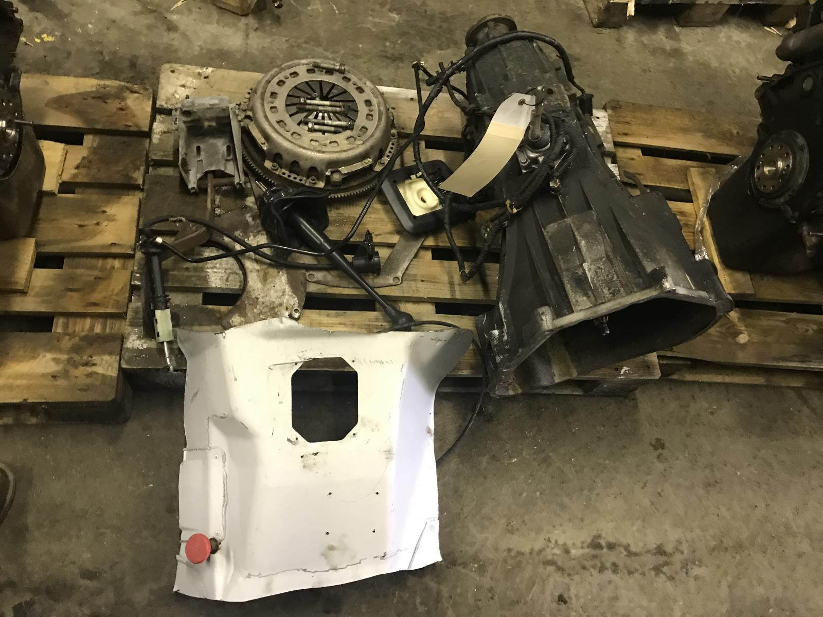 hight resolution of details about 1999 2003 ford f350 7 3l zf6 manual transmission swap for 2wd as53672