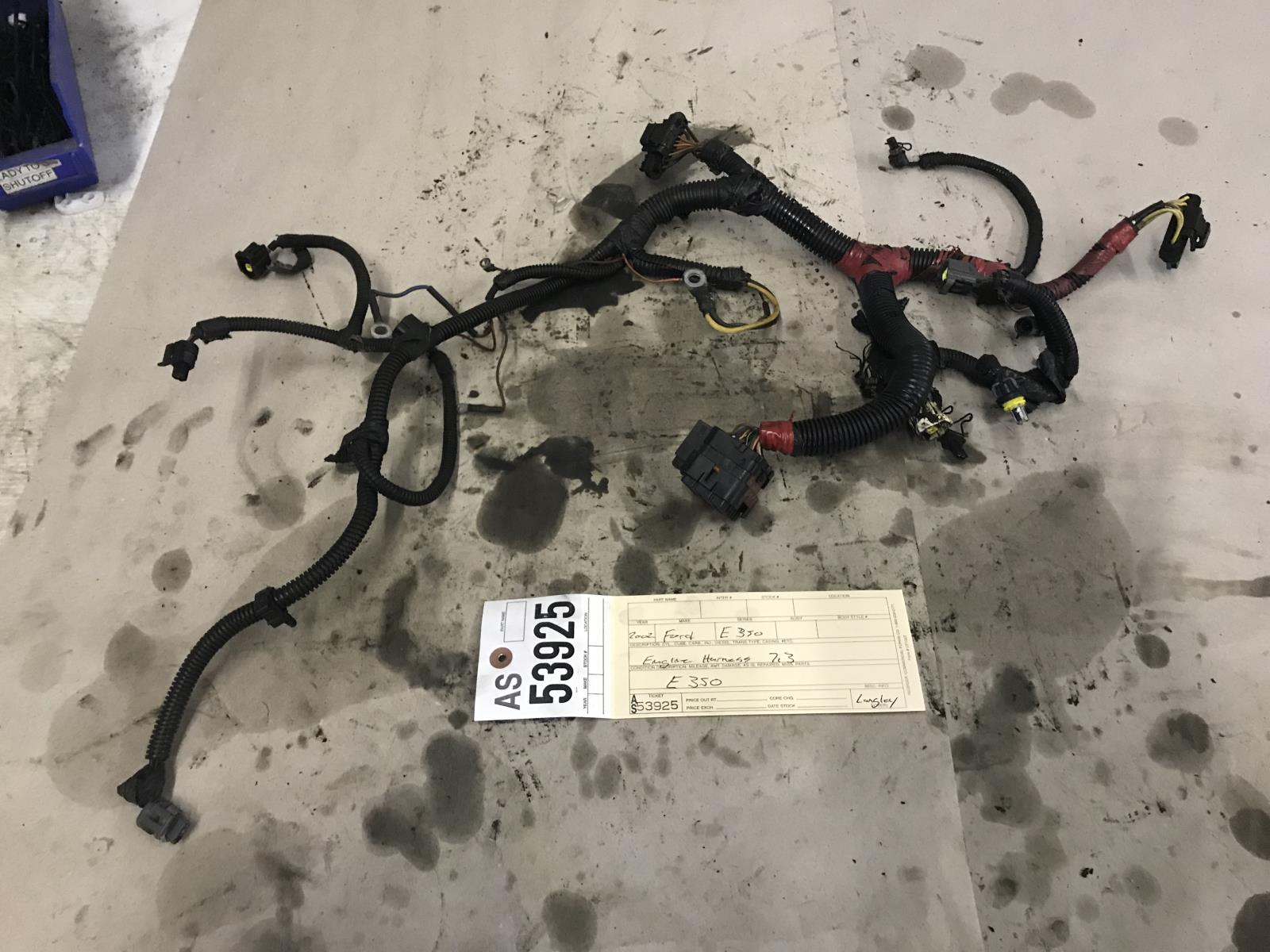 hight resolution of details about 1999 2003 ford e350 e450 7 3l powerstroke engine wiring harness as53925