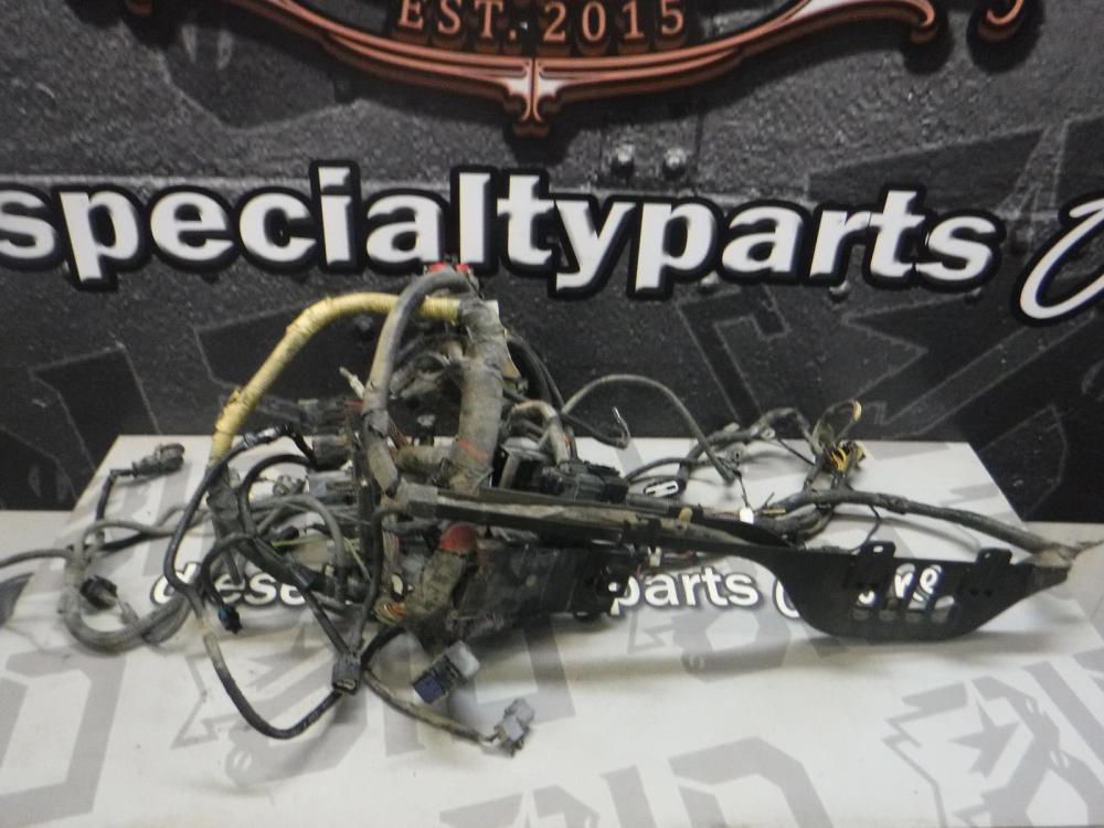 medium resolution of details about 2003 2004 ford f350 6 0 diesel zf6 engine bay wiring harness 3c3t12a581 nab