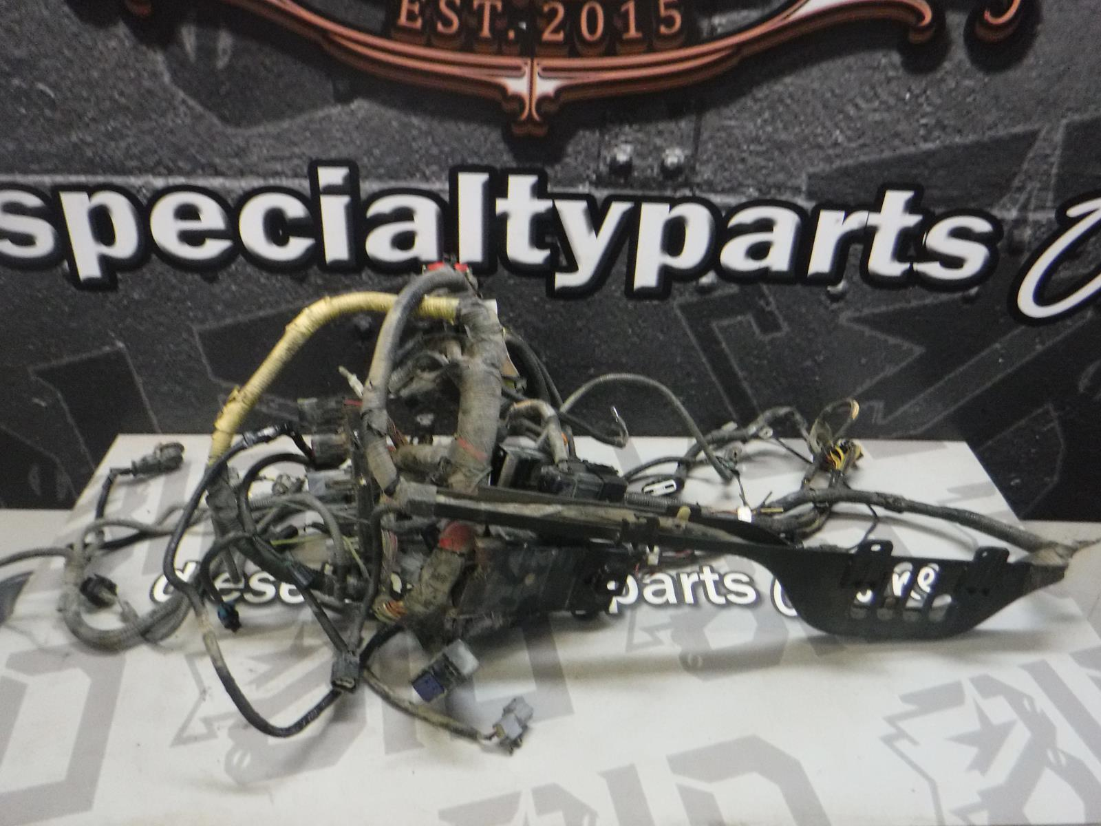 hight resolution of details about 2003 2004 ford f350 6 0 diesel zf6 engine bay wiring harness 3c3t12a581 nab