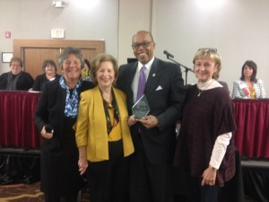 The Kentucky Nursing Association presented Senator Reginald Thomas, D-Lexington, the Citizen of the Year award on Nov. 4 at their annual conference in Louisville.