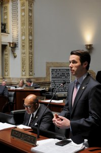 The Kentucky State Senate on March 22 passed Senator Morgan McGarvey's bill relating to military service. Senate Bill 256 would allow for any high school student participating in basic training required by a branch of the US Armed Forces to be considered present for all purposes for up to 10 days. SB 256 now moves to the House of Representatives for further action.