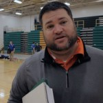 Coach Chris Taylor – HCHS Vball 2013 – Postgame vs LaRue Co – Video
