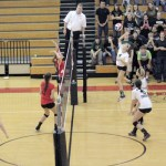 Nelson County vs Green County – HS Volleyball 2013 – (Regionals) – Video