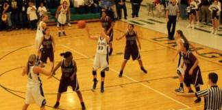 LaRue County Lady Hawks basketball