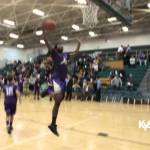 Bardstown HS Warmup Dunks in 2015 5th Region Tourney vs Etown