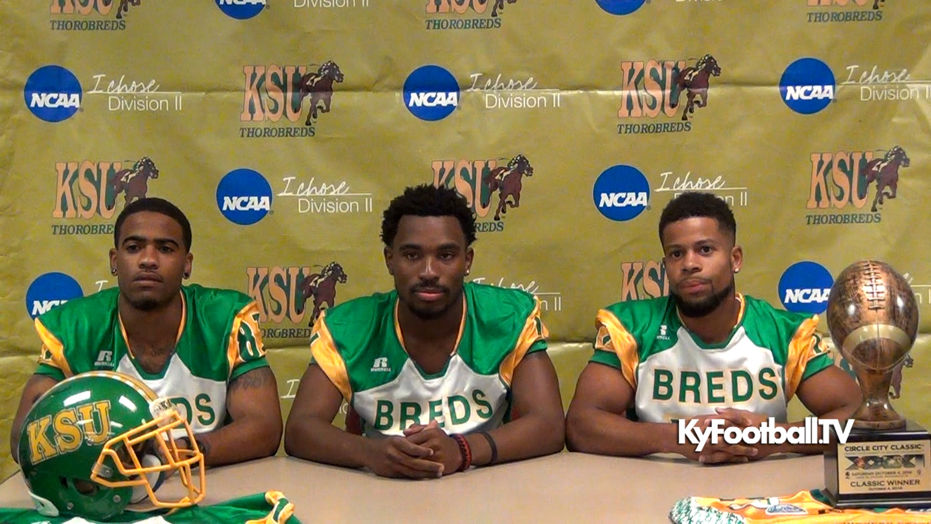online store 9b5ed 52ed5 KY State Thorobreds Football 2015 Media Day – Players ...