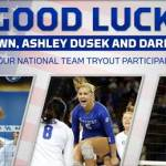 UK Volleyball: Trio of Wildcats to Participate in National Team Tryout